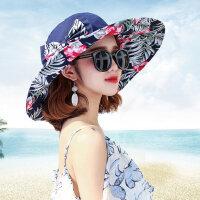 户外防晒帽女运动韩版百搭时尚遮阳帽女士凉帽遮脸沙滩太阳帽