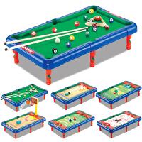 儿童台球桌 六合一桌面运动游戏台玩具桌球台室内多功能球类运动子