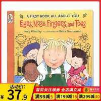 【驰创图书】眼睛鼻子手指 Eyes Nose Fingers and Toes 英文原版绘本 关于你的第1本书 英文版幼