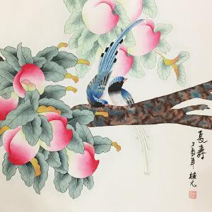 姚桂元《大寿图》著名画家