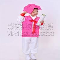 读书郎三字经表演出服装 国学服装 书童演出服装 弟子规六一儿童古装汉服