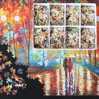 【艺臣】木质拼图1000片成人益智玩具趣味减压儿童礼物动漫风景画