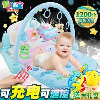 带音乐宝宝0-1岁0-3-12个月架婴儿健身架器脚踏钢琴