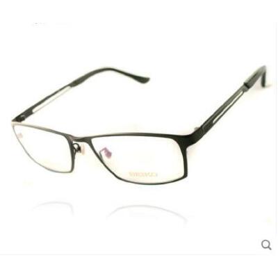 全框眼镜休闲百搭气质近视眼镜 男款大脸眼镜框商务纯钛眼镜架 品质保证,支持货到付款 ,售后无忧