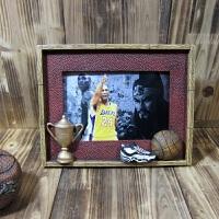 新款相框摆件 篮球 个性摆件 创意生日礼物 女生 送 男生朋友同学 球星相框