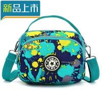 夏季女包斜挎包休闲单肩斜跨包可爱花布小包旅行小包斜跨小布包定制
