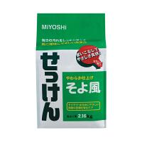 【网易考拉】MIYOSHI 三芳 和风清香天然皂粉 2160克/袋 准妈妈、哺乳期妈妈及婴儿专用 无荧光剂安全健康