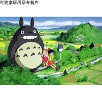 宫崎骏龙猫木质5000片拼图1000片动漫玩具礼物好品质新款