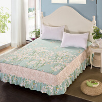 伊迪梦家纺 全棉单件床裙 纯棉床罩式床单 高支高密活性环保印染面料单人双人床HC334