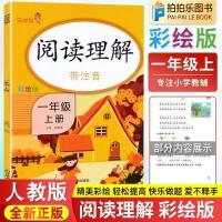 一年级阅读理解训练上册语文 部编人教版注音版