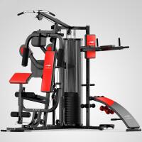 综合训练器家用三人站大型多功能力量组合室内锻炼健身器材 搏击训练款