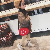 """七夕�Y物�和�包包斜挎包卡通可�勖����包女童公主�r尚包�渭缧""""�女孩包包 �t色"""