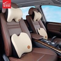 汽车头枕护颈枕记忆棉车用车载座椅靠枕腰靠垫车内用品夏季