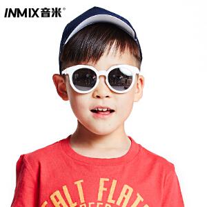 音米新款TR90超轻儿童太阳镜 男女防紫外线宝宝遮阳墨镜儿童镜 AAYATY312