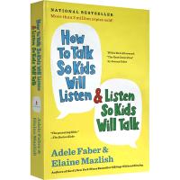 英文原版 如何说孩子才会听怎么听孩子才肯说 英文版 How to Talk So Kids Will Listen Ta