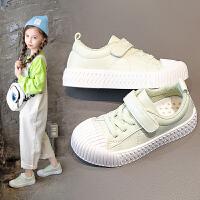 童鞋小白鞋女童春秋季儿童百搭小女孩板鞋