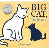 【现货】英文原版 大猫,小猫 Big Cat, Little Cat 2018年凯迪克银奖绘本 精装 3-6岁绘本 9
