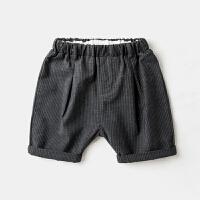 儿童短裤夏装男童休闲裤夏季薄款沙滩裤宝宝裤子纯棉中裤