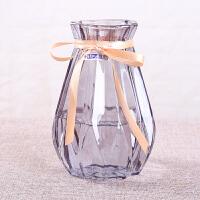 欧式风信子花瓶水培植物玻璃瓶客厅插花摆件干鲜花瓶 桌面插花瓶 特