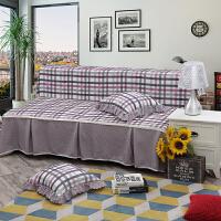 无扶手沙发床套简约沙发盖布简易折叠沙发床罩双三人位老式沙发巾定制
