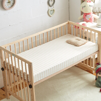 新生儿针织纯棉婴儿床笠儿童婴幼垫宝宝床罩床上用品床单可定制