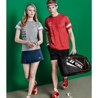 20180827070600167套装羽毛球服网球服女比赛服情侣装圆领短袖乒乓球服男打折yy