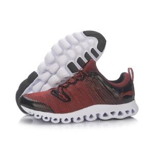 李宁跑步鞋男鞋2018跑步系列经典弧李宁弧减震透气晨跑运动鞋