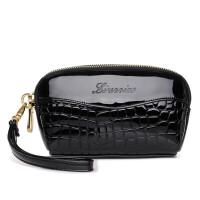 手拿包小包手包新款女士女包手机包迷你小包包h 黑色(赠送手腕带)