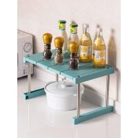 可叠加厨房用品置物架调味料收纳架塑料调料架碗碟架储物架