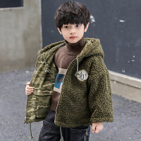 童装男童秋装外套大童洋气男孩两面穿儿童加绒秋冬