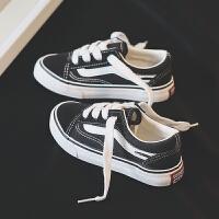 儿童帆布鞋女童小白鞋男童板鞋运动鞋子