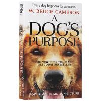 一条狗的使命 英文原版 A Dog's Purpose 全英文版同名电影原著小说 布鲁斯 卡梅伦 宠物成长情感治愈小说