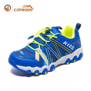CAMKIDS童鞋男童登山鞋 2018春季新款儿童户外运动鞋中大童