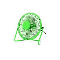 普润 usb迷你风扇静音4寸小风扇 USB桌面散热风扇电风扇绿色