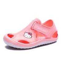HelloKitty童鞋女童包头凉鞋夏季新款凉鞋沙滩鞋