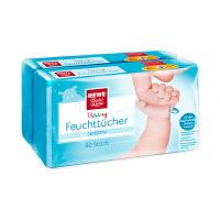 【网易考拉】REWE Beste Wahl 婴儿湿巾温和型 80张/包x2包
