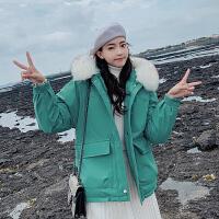 【年货节 直降到底】派克服2020新款女短款冬款韩版宽松休闲保暖棉服女士外套棉袄棉衣