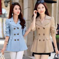 中年女装外套30-40岁妈妈春秋装休闲宽松风衣女短款春季韩版外衣
