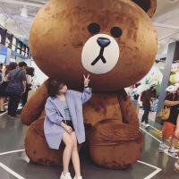 七夕礼物巨大毛绒玩具2米大号公仔布朗熊娃娃1.6米送女生生日礼物情人节