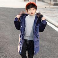 儿童棉衣冬季2018新款中大童厚款棉袄韩版男孩外套