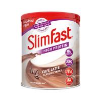 【网易考拉】【代餐饱腹纤体】slimfast咖啡拿铁味代餐438g/罐