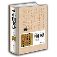 中国书法一本通精装 中国书法基础技法知识理论书法艺术入门书籍 书法常用笔法练习 中国书法史中国传世书法鉴赏书