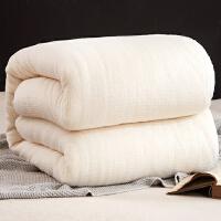 棉被棉絮学生宿舍床垫被褥子棉花被芯保暖加厚被子冬被全棉