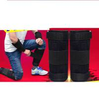 沙袋绑腿钢板跑步可调节隐形训练铅块沙包绑手健身男装备运动