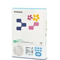熊猫 F-385DVD CD复读机 随身听插卡充电锂电池MP3复读机 英语四六级 复读机 USB复读机 便携播放器