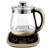 AUX奥克斯 S680 多功能养生壶 煎药壶 电煮茶壶 电水壶 电热水壶 玻璃电热水壶