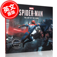 [预售]漫威蜘蛛侠 游戏艺术画册设定集 英文原版 Marvel's SpiderMan: The Art of the