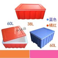 塑料食品保温箱食堂盒饭外卖快餐配送箱送餐箱海鲜烧烤保鲜冷藏箱