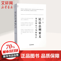 民法总则要义:规范释论与判解集注 李宇 著