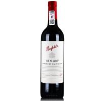 奔富BIN407红酒 澳洲原瓶进口干红葡萄酒 750ml木塞